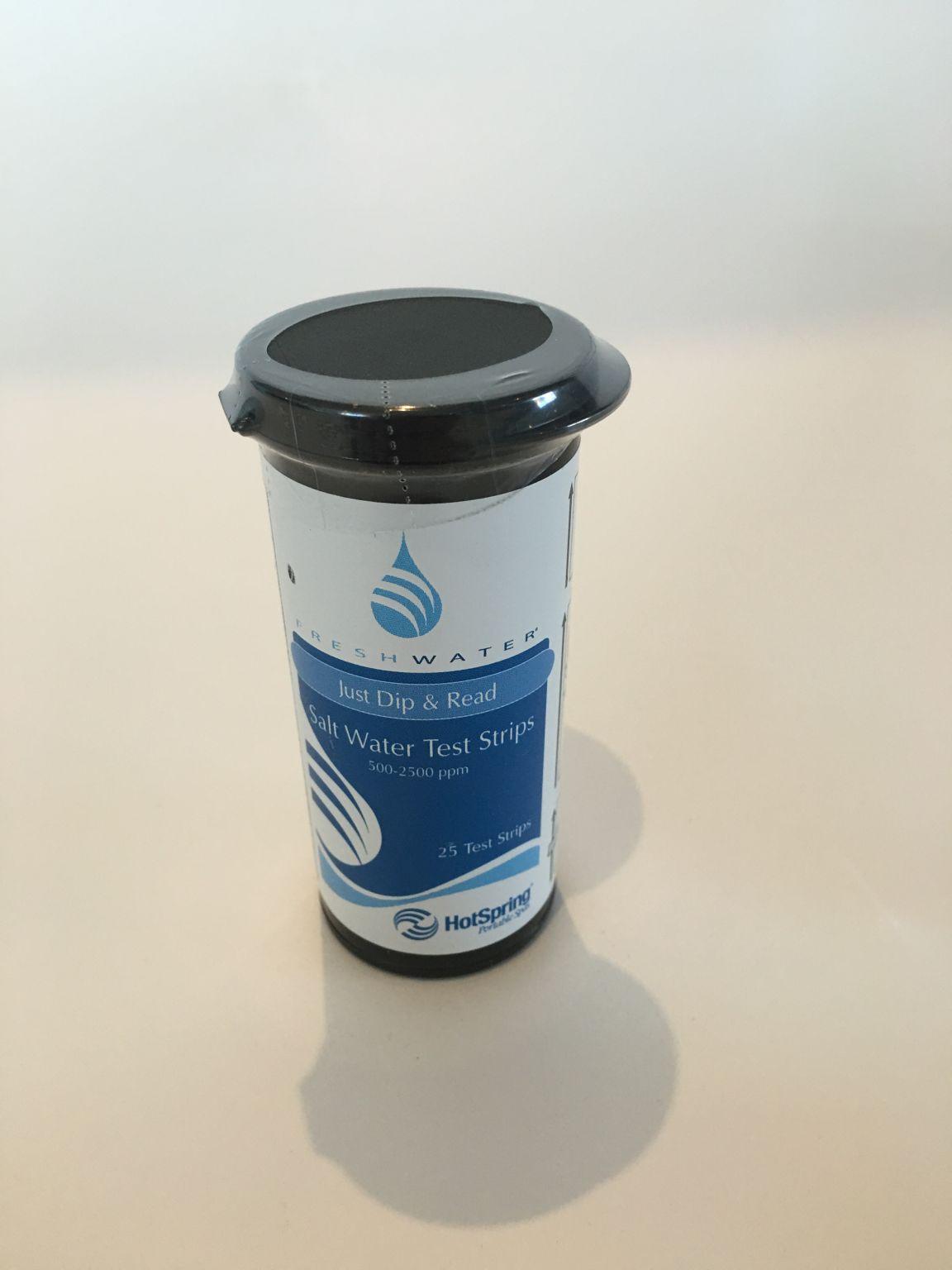 Hotspring Salt Water Test Strips Brisbane Spa Super Centre