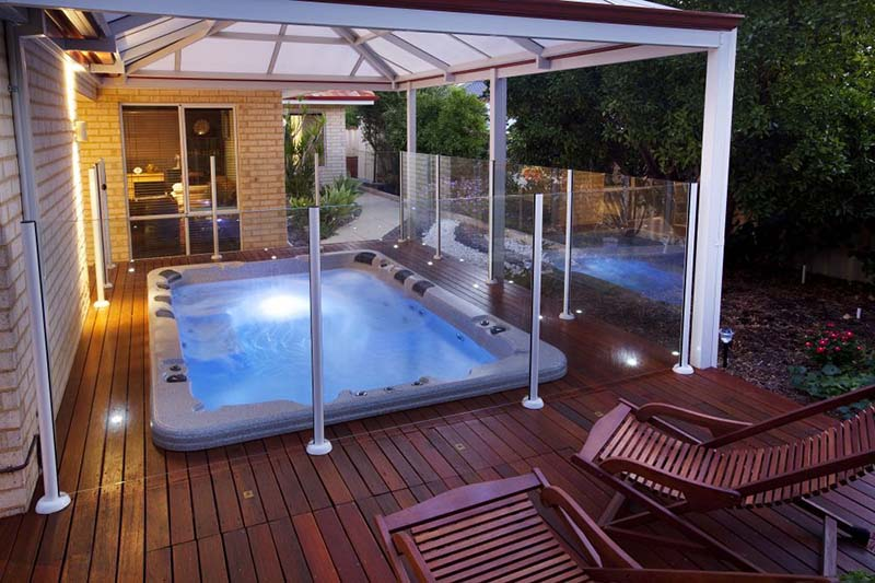 Swim spas gallery brisbane spa super centre - Female only swimming pool melbourne ...